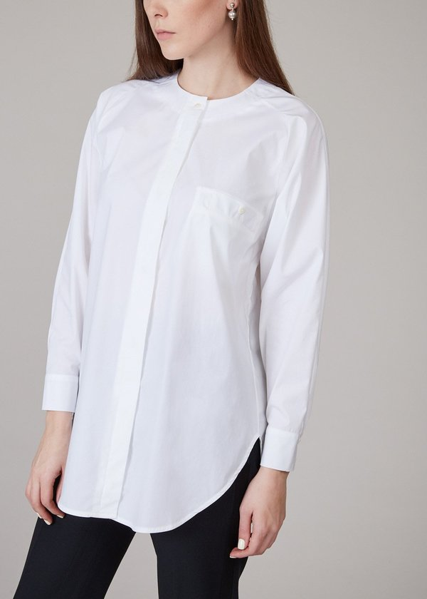 MR. LARKIN Queenie Shirt - white