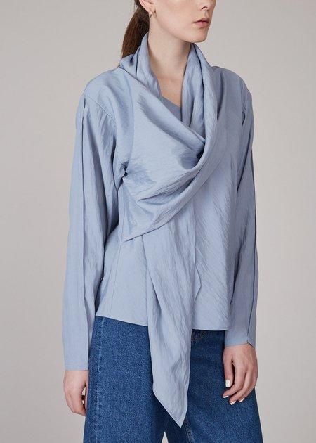 SHAINA MOTE Shawl blouse - storm