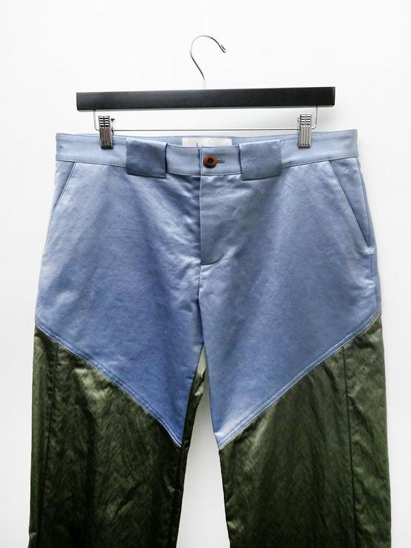 Unisex Linder Bader Long Pant - Blue/Green
