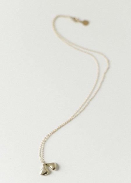 Seaworthy Deux Necklace - Brass