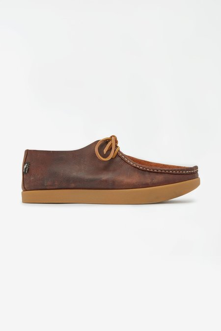 Yogi Willard Reverse Vamp Shoe - Brown