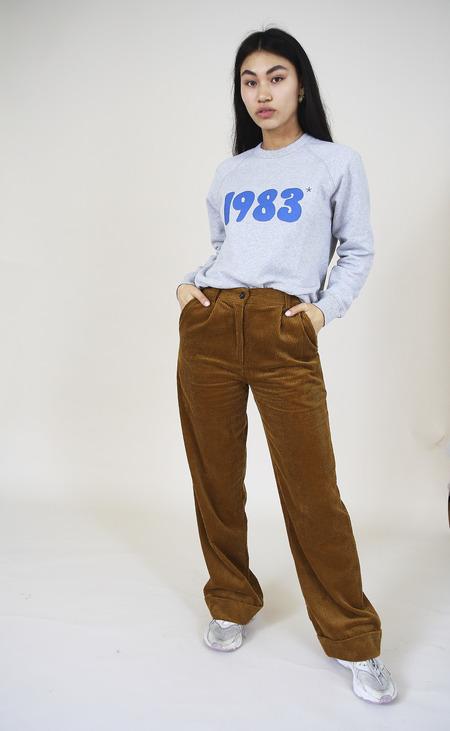 YUKA PARIS Paco Corduroy Trousers -  Camel