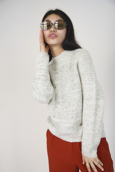 Yuka Paris Marion Knit Jumper - Cream