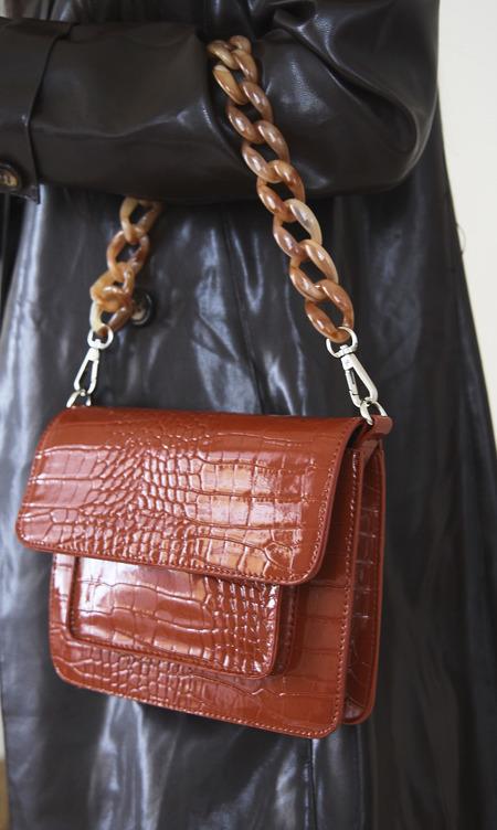 HVISK Cayman Pocket Bag - Chestnut