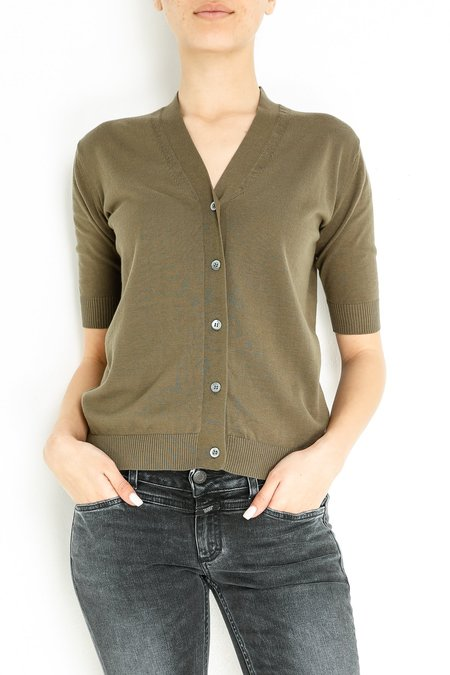 Aspesi & Co Cardigan - Olive