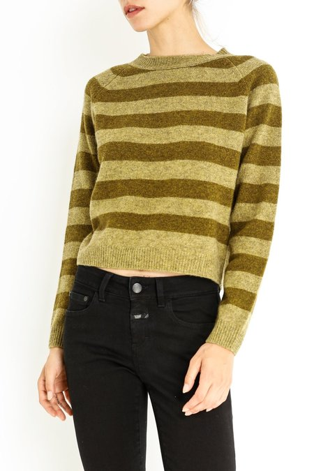 Aspesi & Co Stripe Sweater - Green