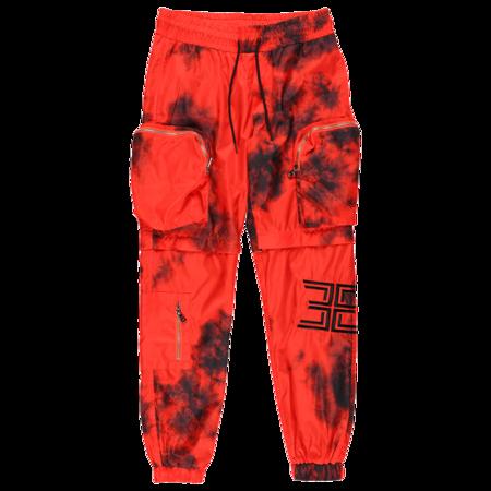 EPTM. Tie-Dyed Nylon Pants