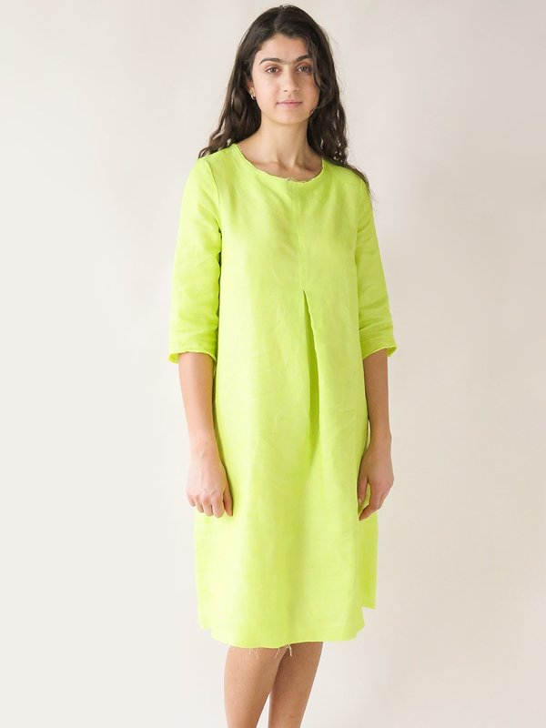 Erica Tanov Rye Dress - Fluo