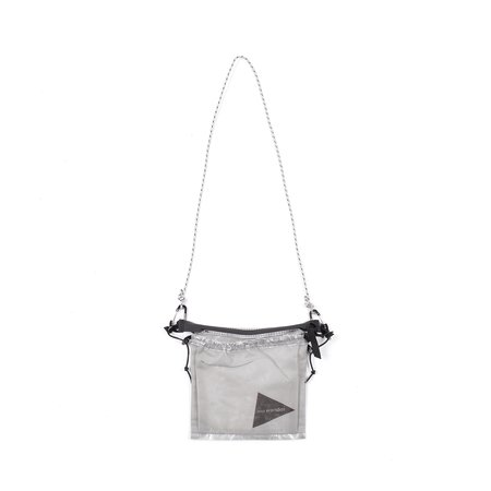 and wander Dyneema Sacoche Bag - White