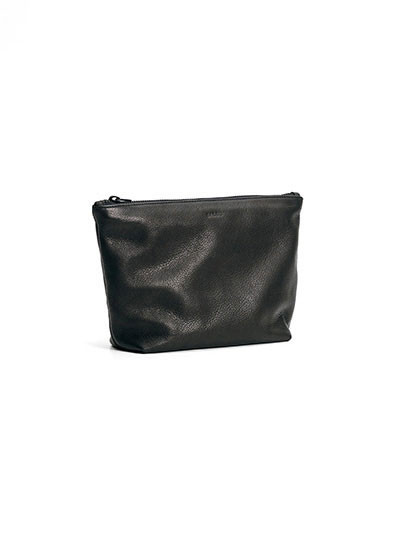 Medium Stash Clutch - Black