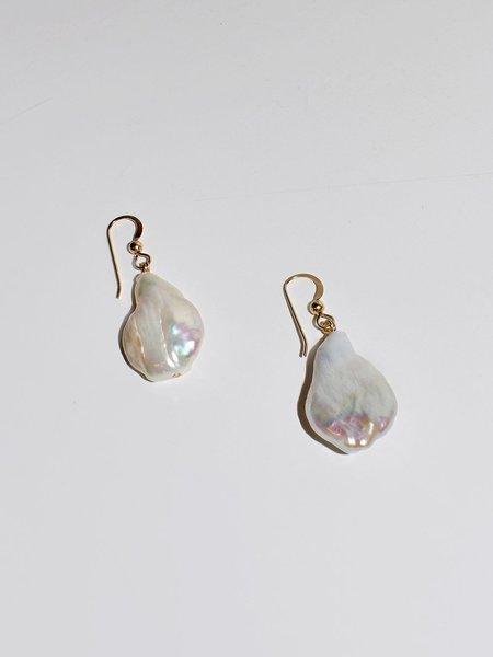 PUNKWASP Freshwater Pearl Drop Earrings