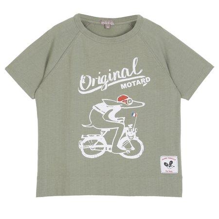 Baby Émile et Ida Original Biker T-Shirt - Sage