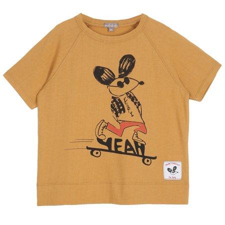 Kids Émile et Ida Yeah T-Shirt - Maple