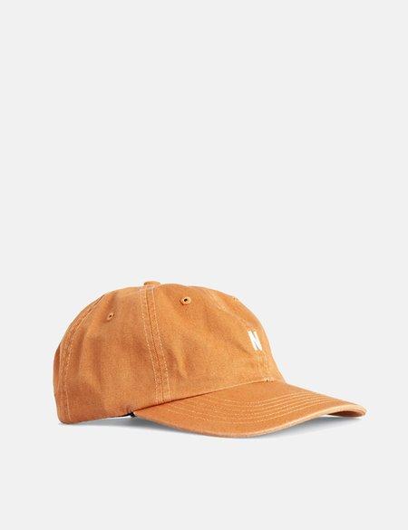 Norse Projects Twill Sports Cap - Cadmium Orange