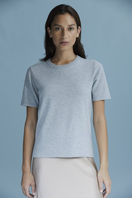 Laing Home The Cashmere Tee - Bluestone