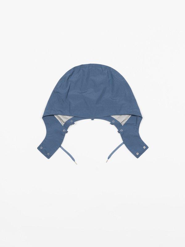 Nanamica GORE-TEX® Short Soutien Collar Coat - Steel Blue