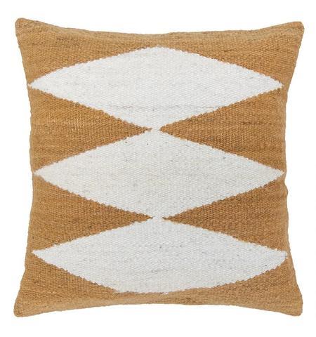 Pampa Puna Cushion #02 - camel/white