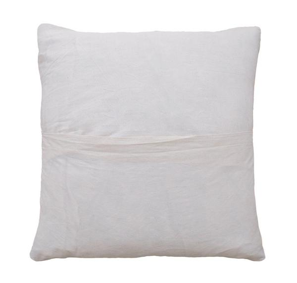 Pampa Puna Floor Cushion #14 - camel/white