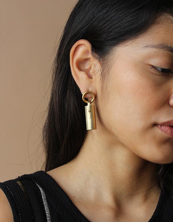 Laura Lombardi Pendulum Earrings