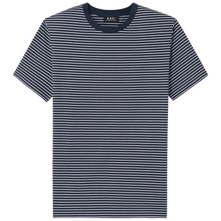 A.P.C. orson jersey tee - Dark Navy