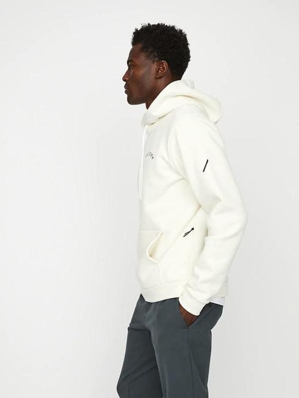 Hill City Heavyweight Fleece Graphic Hoodie - Off White