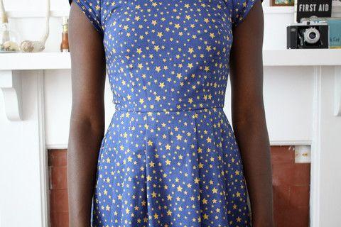 Birds of North America Macaw Dress (Star Print) POP-UP SALE