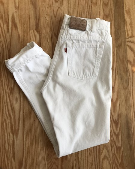 VINTAGE LEVIS 531 High Waisted Jeans 29/31 - White