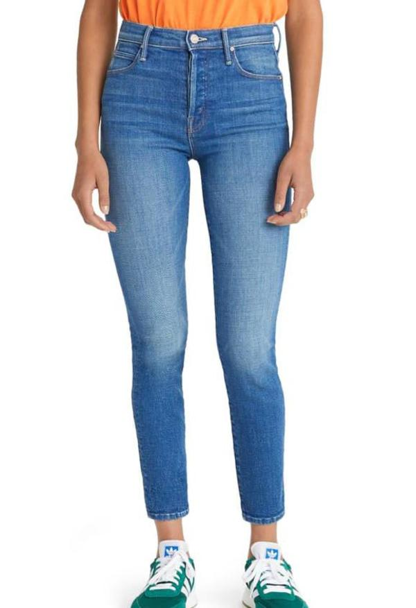 Mother Denim The Super Stunner Ankle jeans - Double Vision