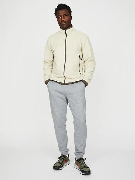 Hill City Reversible Hydro Fleece Jacket - Olive / Stone