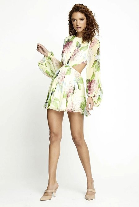 ALICE MCCALL Wild Mini Dress - Lemon