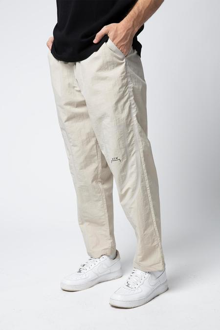 A Cold Wall Bracket Taped Track Pants - Moonbeam