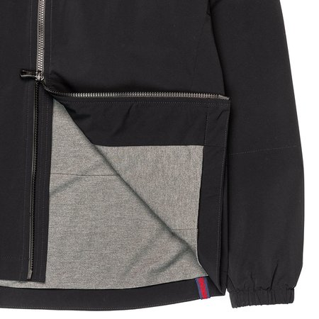 Northwestern Knitting Company 301 Quilted Hooded Zip - Black