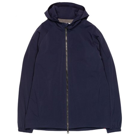 Northwestern Knitting Company 301 Quilted Hooded Zip - Navy