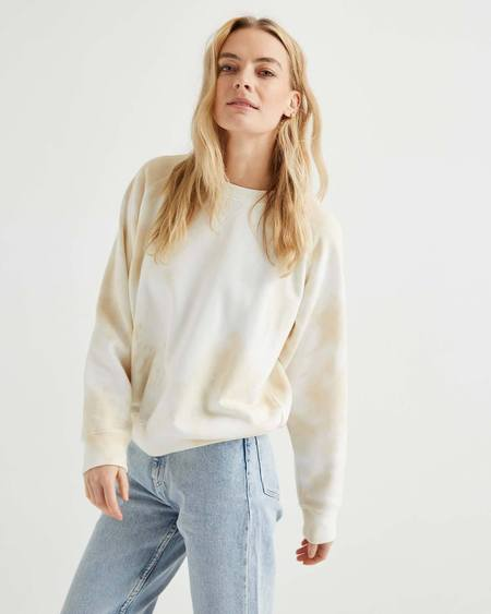 Richer Poorer Crew Sweatshirt - Cloud Wash