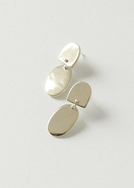 Seaworthy Azul Earring - Brass