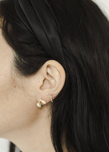Seaworthy Mandarin Earrings - Brass