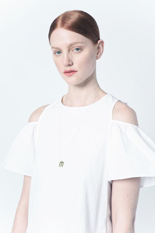Natalie Joy - Small Scale Tri Line Necklace