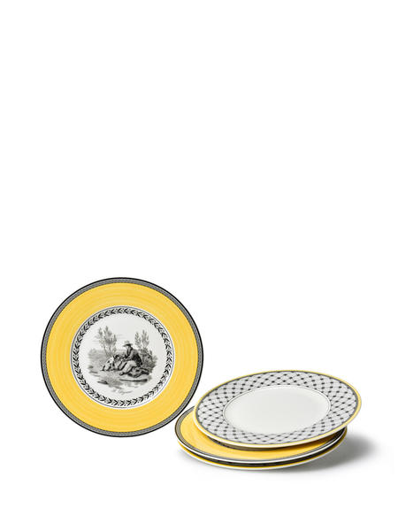 VILLEROY & BOCH Audun Salad Plate Set Of 4