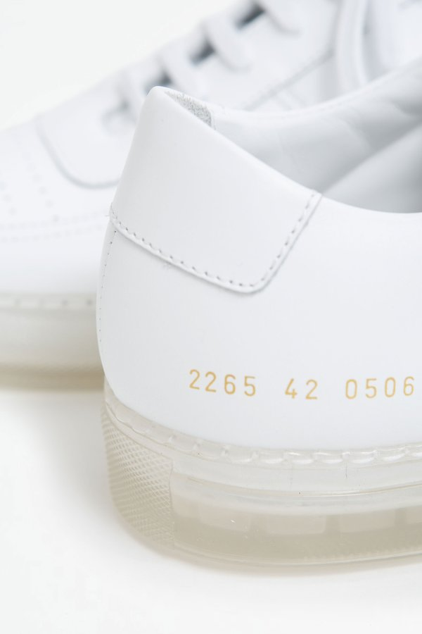 Common Projects BBal low transparent