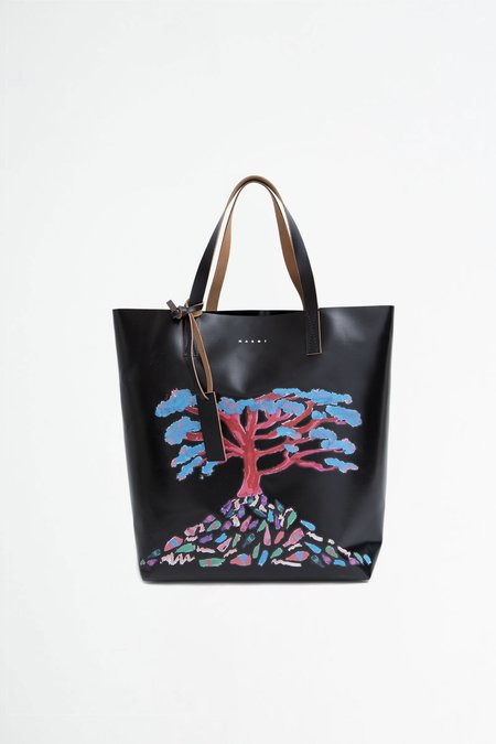 Marni Shopping bag - tree print