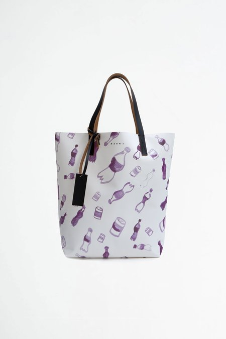 Marni Shopping bag - waste print