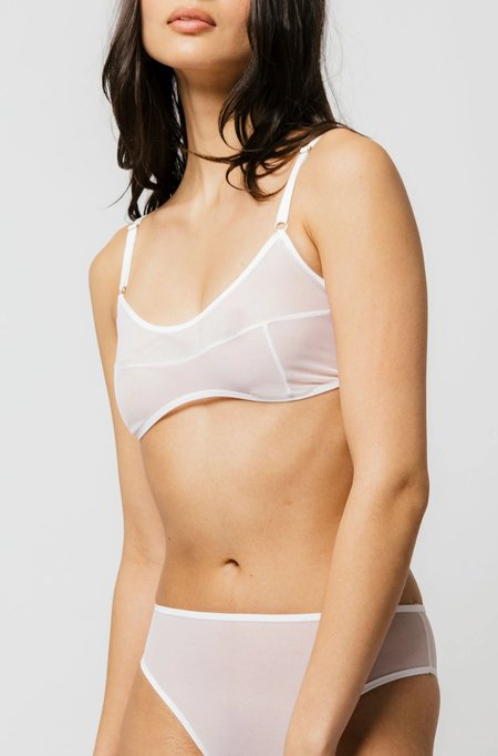 Mary Young Kendi Bra - White