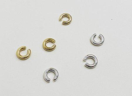 Machete Perfect Ear Cuff - Silver
