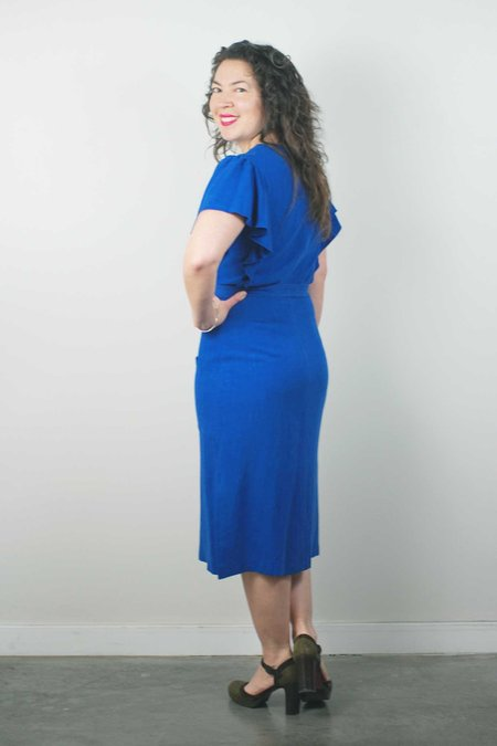 Jennifer Glasgow Klee Dress - Blue