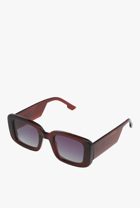 Unisex KOMONO Avery Sunglasses - Burgundy