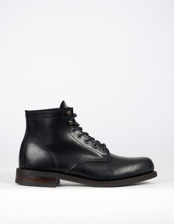 wolverine 1883 wolverine 6 kilometer boot black leather garmentory