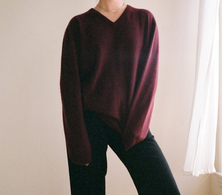 Vintage Vino Cashmere Knit