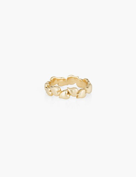 Kathryn Bentley Endless Heart ring - 14k gold