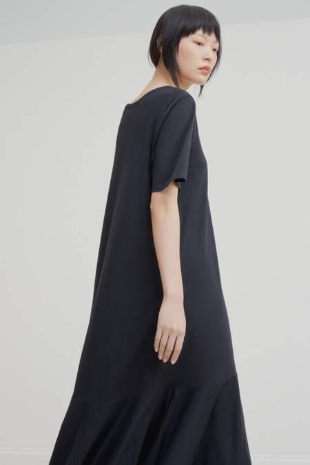 Kowtow Flare Hem Dress - Black