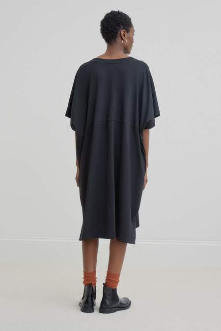 Kowtow V-Neck Dress - Black